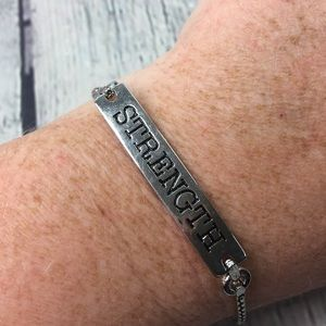 "Good Works Makes A Difference ""Strength"" Bracelet"